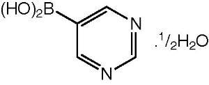 5-Pyrimidineboronic acid hemihydrate 97%