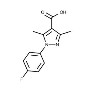 1-(4-Fluorophenyl)-3,5-dimethyl-1H-pyrazole-4-carboxylic acid ≥95%