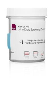 Alere iCup® DX Pro, CLIA Waived Drug Test Kits, Alere™ Toxicology
