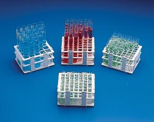 SCIENCEWARE® No-Wire™ Test Tube Half Racks, Bel-Art