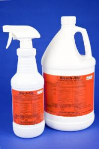 BLEACH-RITE® Disinfecting Spray with Bleach, Current Technologies