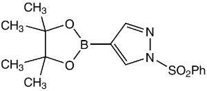 1-Phenylsulfonyl-1H-pyrazole-4-boronic acid pinacol ester ≥95%
