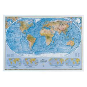 World Physical/Ocean Floor Map | VWR