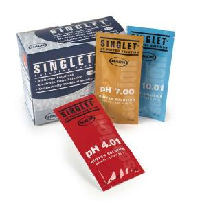 SINGLET™ Single-Use pH Buffers, Hach