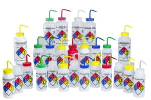 55061ea6779c VWR® Right-to-Know, Safety-Vented Wash Bottles with GHS Labeling