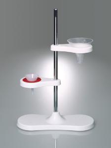 LaboPlast Funnel Stands for Two or Four Funnels, Bürkle