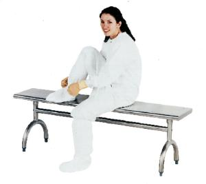 Stainless Steel Gowning Benches, Advance Tabco®