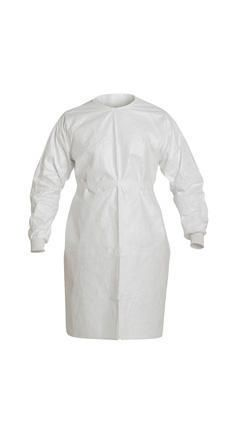 DUPONT PROTECTIVE APPAREL IC701SWH00003000 UOM: CS GOWN ISOCLEAN KNT-CF/S-SEAM WT CS30