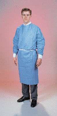 DUPONT PROTECTIVE APPAREL 9841N UOM: CS GOWNS DISP BL NST LG CS25