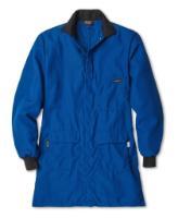 Workrite® FR Nomex® Men's Knit Cuff Flame Resistant Lab Coat with Westex® ShieldCXP™ Chemical Splash Protection Workrite Uniform Co