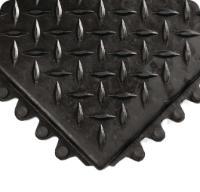 Modular Diamond-Plate Grease Proof Flooring, Wearwell®