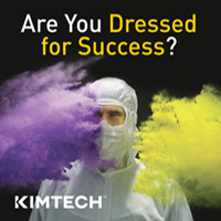 Let Kimtech™ help you get DRESSED FOR SUCCESS™ in your cleanrooms and laboratories
